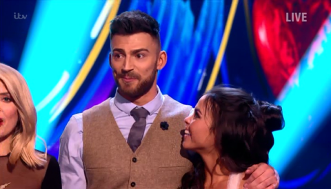 Dancing On Ice's Jake Quickenden remains judges' favourite as he takes highest score of the show again