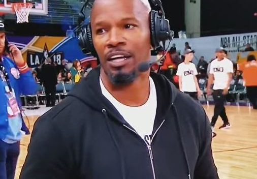 Jamie Foxx storms off interview