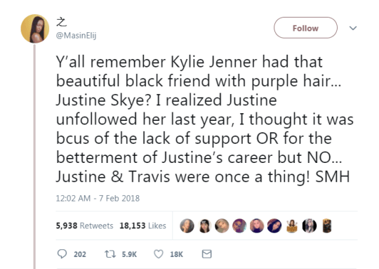 Who is Justine Skye, the friend Kylie Jenner 'stole' Travis