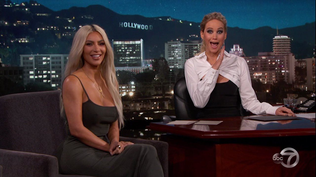 Jennifer Lawrence laments her friendship with Kim Kardashian might be a little 'one-sided'