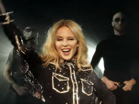 Kylie Minogue's video for Dancing is not what we expected but it's a boot scootin' delight