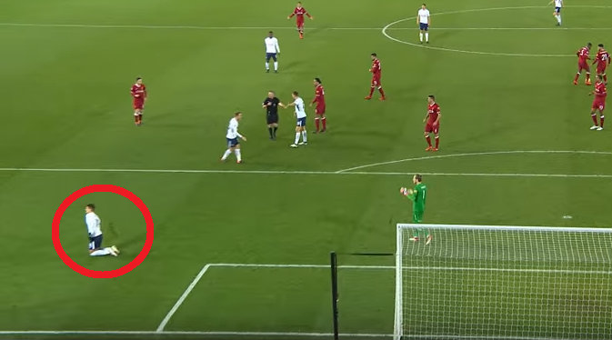 New footage reveals Erik Lamela conning referee during Liverpool's draw with Tottenham