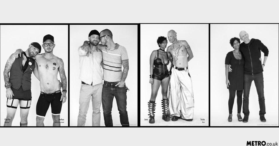 Portraits Capture People's BDSM Style Against Their Everyday Looks Picture: Michael Topolovac/Crave LINK: https://www.lovecrave.com/crave-portrait-project/