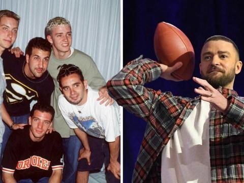 Justin Timberlake insists *NSYNC won't be reuniting at the Super Bowl