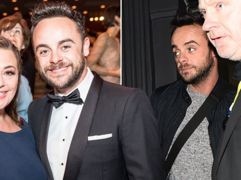 Ant McPartlin keeps a low profile at BGT auditions after estranged wife Lisa Armstong returns to work
