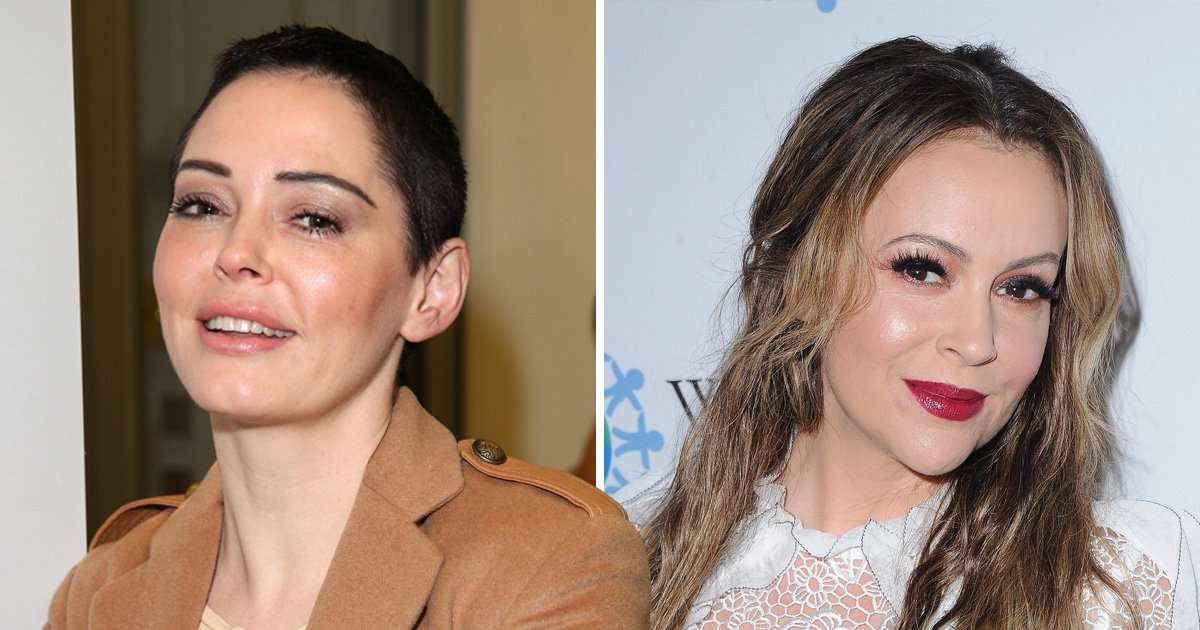 Rose McGowan hits out at Charmed co-star Alyssa Milano: 'She's a lie'