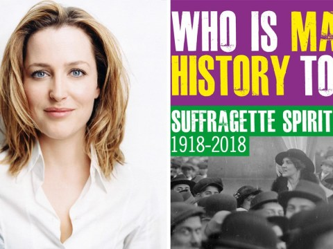 Gillian Anderson's quest to find modern day Suffragettes