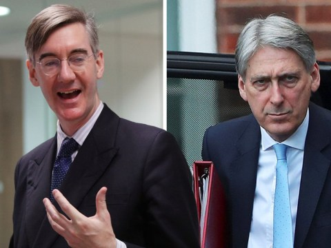 Jacob Rees-Mogg really has the daggers out for Philip Hammond