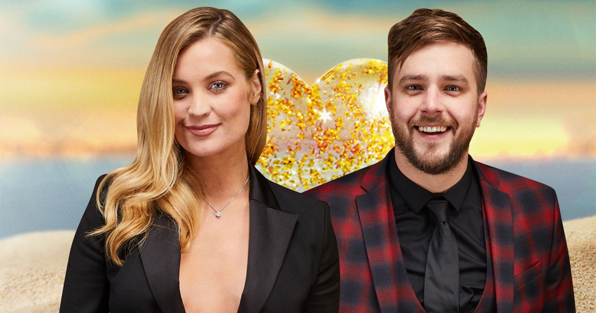 Laura Whitmore made boyfriend Iain Stirling tell her Love Island gossip when he was filming