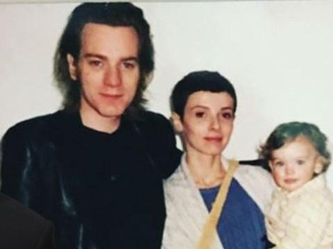Ewan McGregor's daughter Clara reveals 'nostalgic' family photo amid parents' divorce