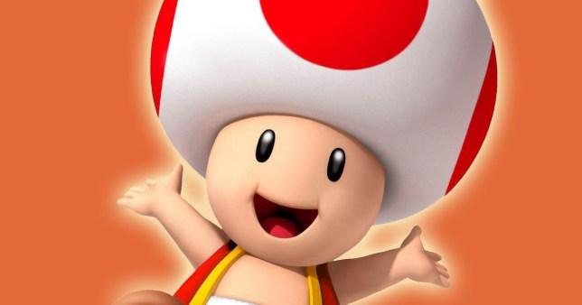 Nintendo Confirm Super Mario Character Toad Has A Mushroom Head