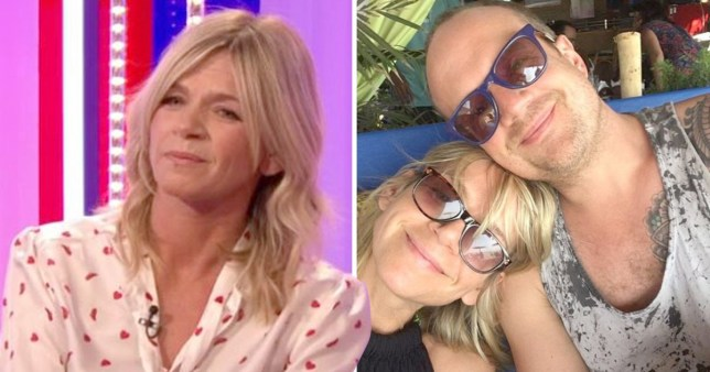 Zoe Ball and Billy Yates