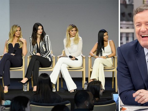 Piers Morgan labels Kendall Jenner the only good looking Kardashian: 'I wouldn't give the others a second look in a Croydon nightclub'