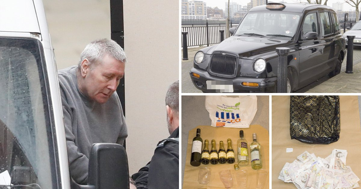 First picture of John Worboys as he appears in court for parole hearing