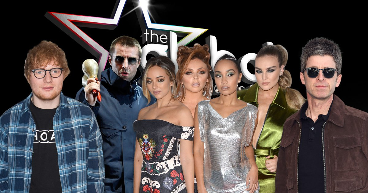 Little Mix have the Power as they lead 2018 Global Awards nominations with Ed Sheeran