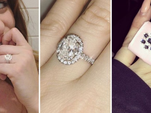 Dapper Laughs replaces fiancée Shelley Rae's paper engagement ring with an absolutely massive diamond