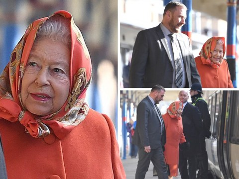 Queen heads home 48 days after arriving in Sandringham for Christmas