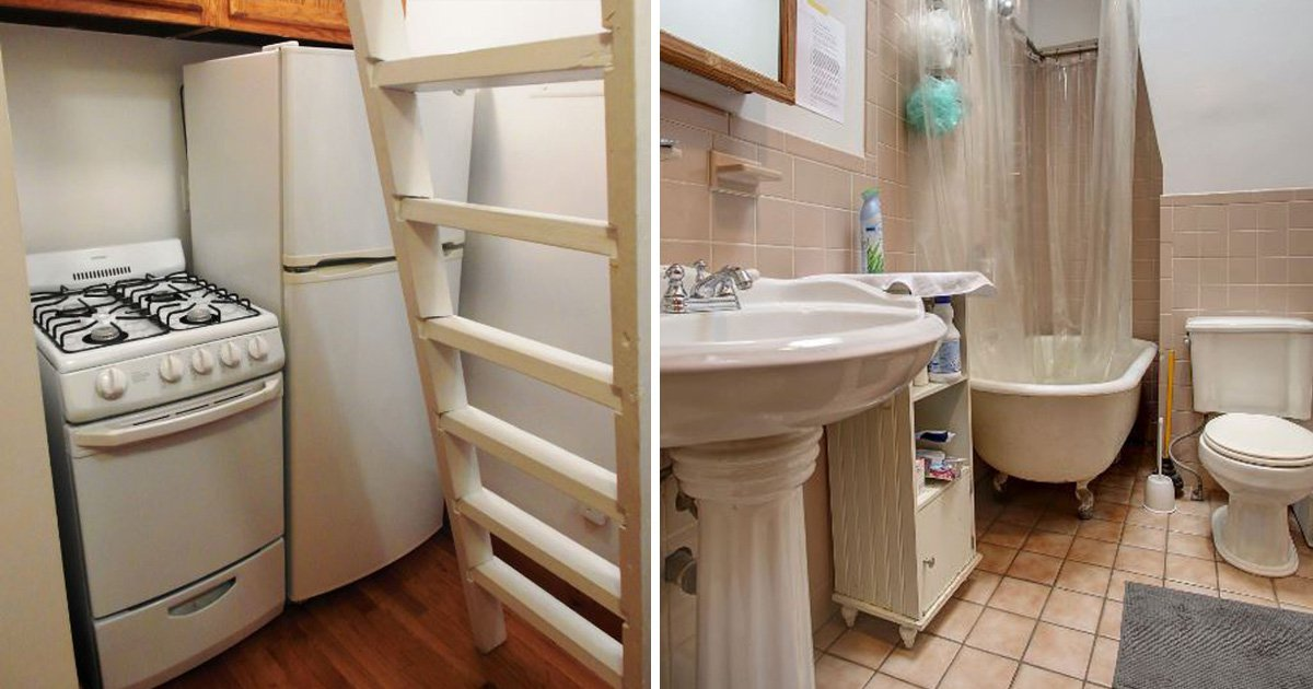 How about spending nearly $1000 a month on renting this 68sq ft NYC apartment?