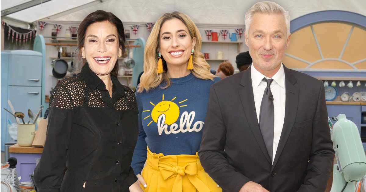 Martin Kemp, Stacey Solomon and Teri Hatcher lead the Celebrity Bake Off confirmed line-up