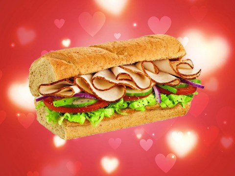Subway is giving away free six-inch subs this Valentine's Day