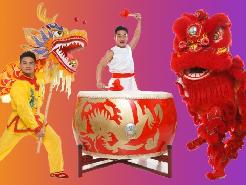 Why is there always a dragon or lion dance in Chinese New Year parades and celebrations?