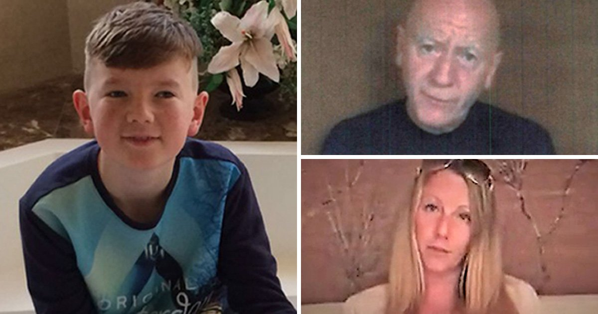Abduction of boy, 13, who vanished with mum has 'broken' gran