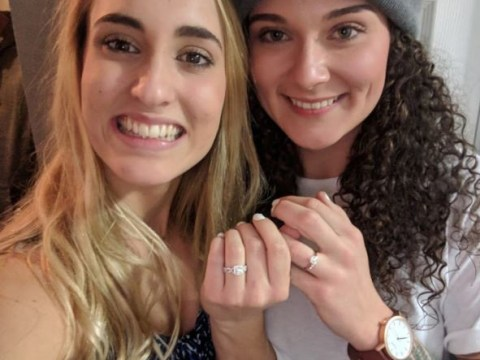 This couple accidentally proposed to each other at the same time