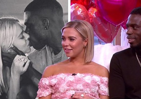 Love Island's Marcel Somerville and Gabby Allen 'keep their private life private' as they make public declaration of love on live TV
