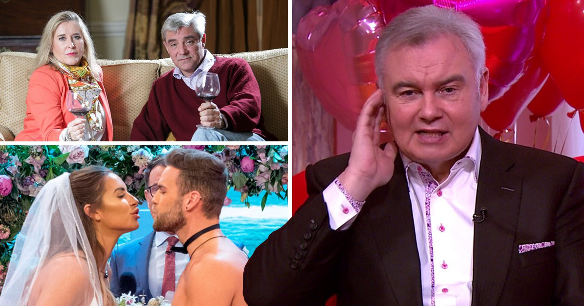 Eamonn Holmes thought Gogglebox's Steph and Dom got married on TV as it's clear they don't watch GMB