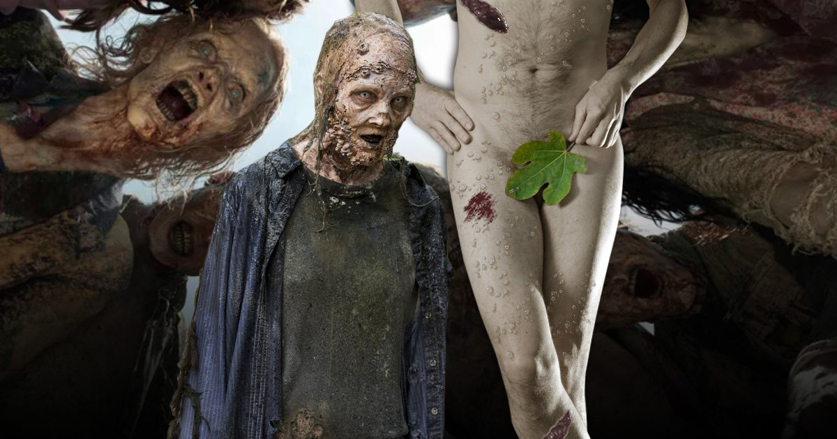 The Walking Dead to feature first nude zombie