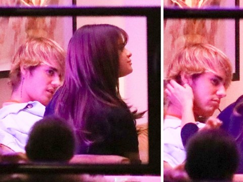 Justin Bieber and Selena Gomez cosy up on romantic Valentine's Day date