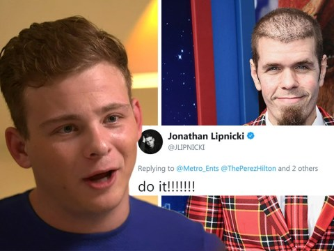 Jonathan Lipnicki backs Perez Hilton for next series of Celebs Go Dating: 'Do it, it's so fun!'
