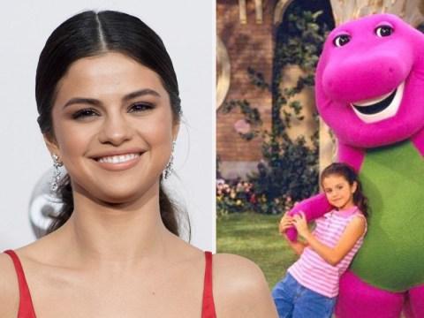 Selena Gomez bravely confesses her teenage crush was Barney