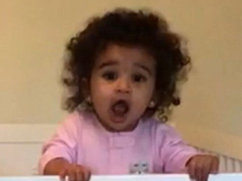 Rob Kardashian shares adorable video of daughter Dream saying 'dada' from her cot