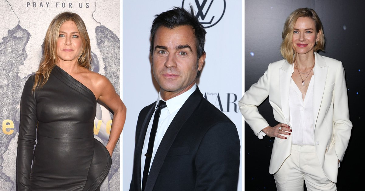 Did a hug from Naomi Watts rock Justin Theroux and Jennifer Aniston's marriage?