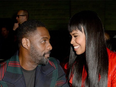 Newly engaged Idris Elba and Sabrina Dhowre can't stop flaunting their love at London Fashion Week