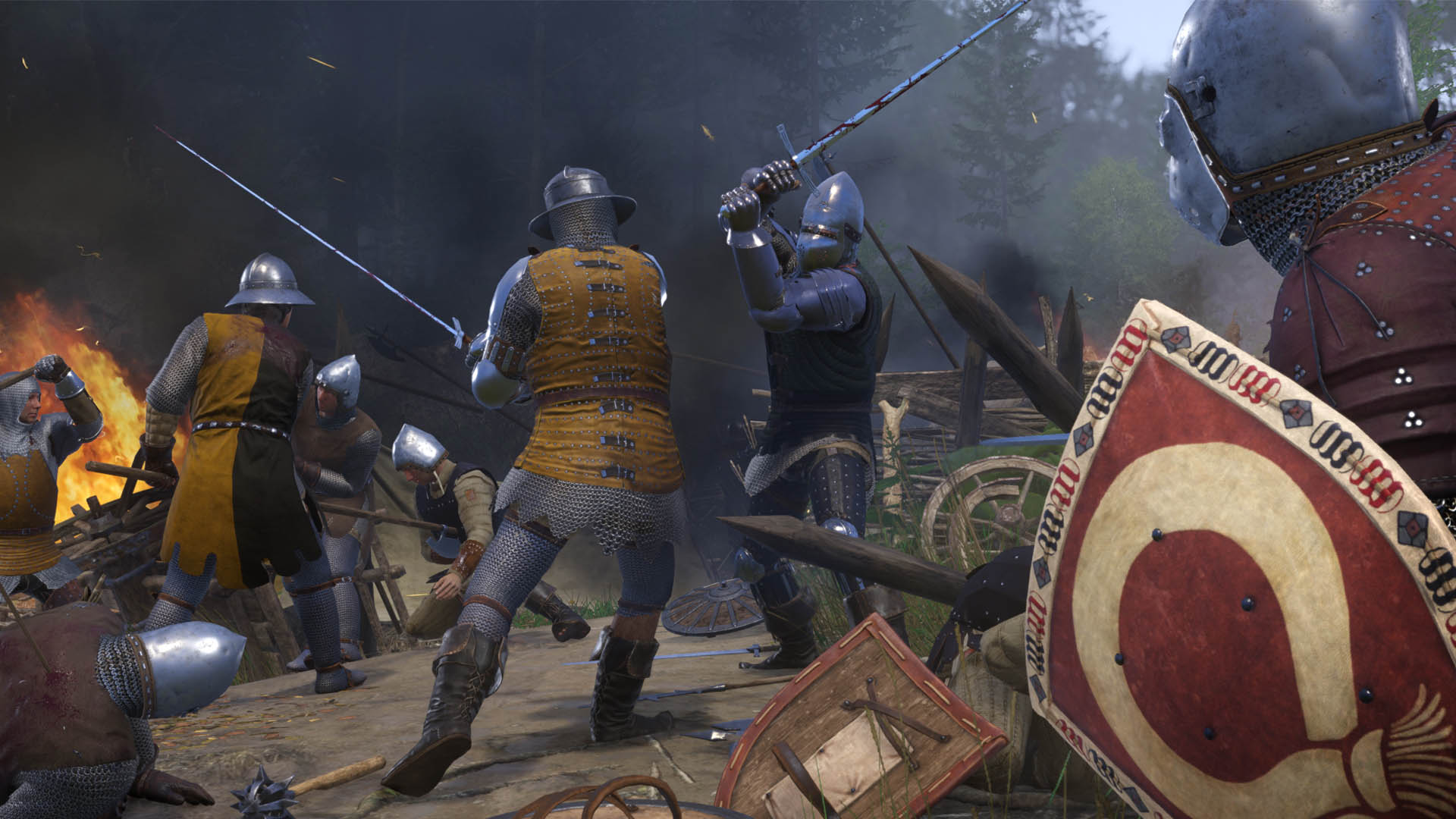 Kingdom Come: Deliverance (PS4) - magic won't save you here