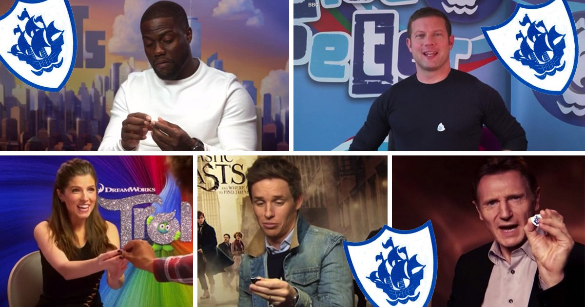 Celebrities celebrate their Blue Peter badges as show airs its 5000th episode: 'It's extraordinary'