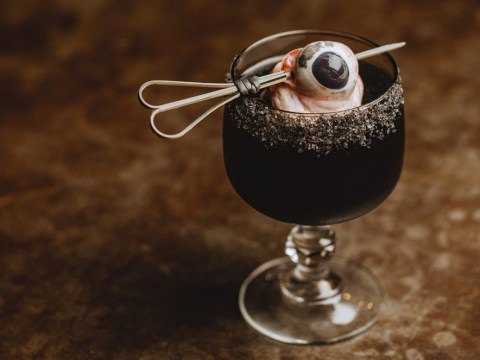This restaurant garnishes its margaritas with actual pig eyeballs