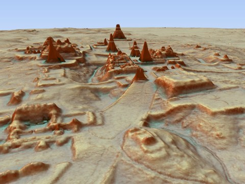 Ancient Mayan city home to millions of people found in dense jungle