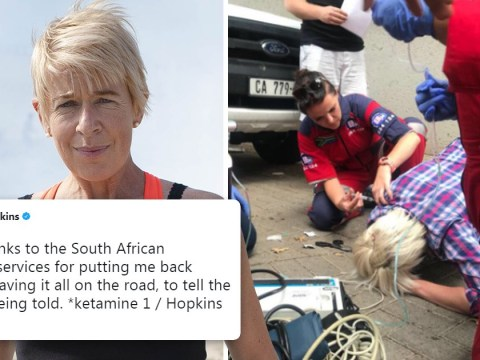 Katie Hopkins thanks emergency services as she collapses after 'taking ketamine'