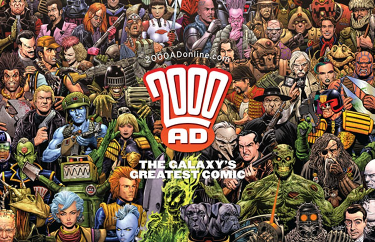 2000 AD make massive step and announce first ever all-female creative team