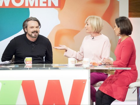 Paul Cattermole jokes he didn't steal shirt the Loose Women panel bought for him after 'deeply uncomfortable' interview