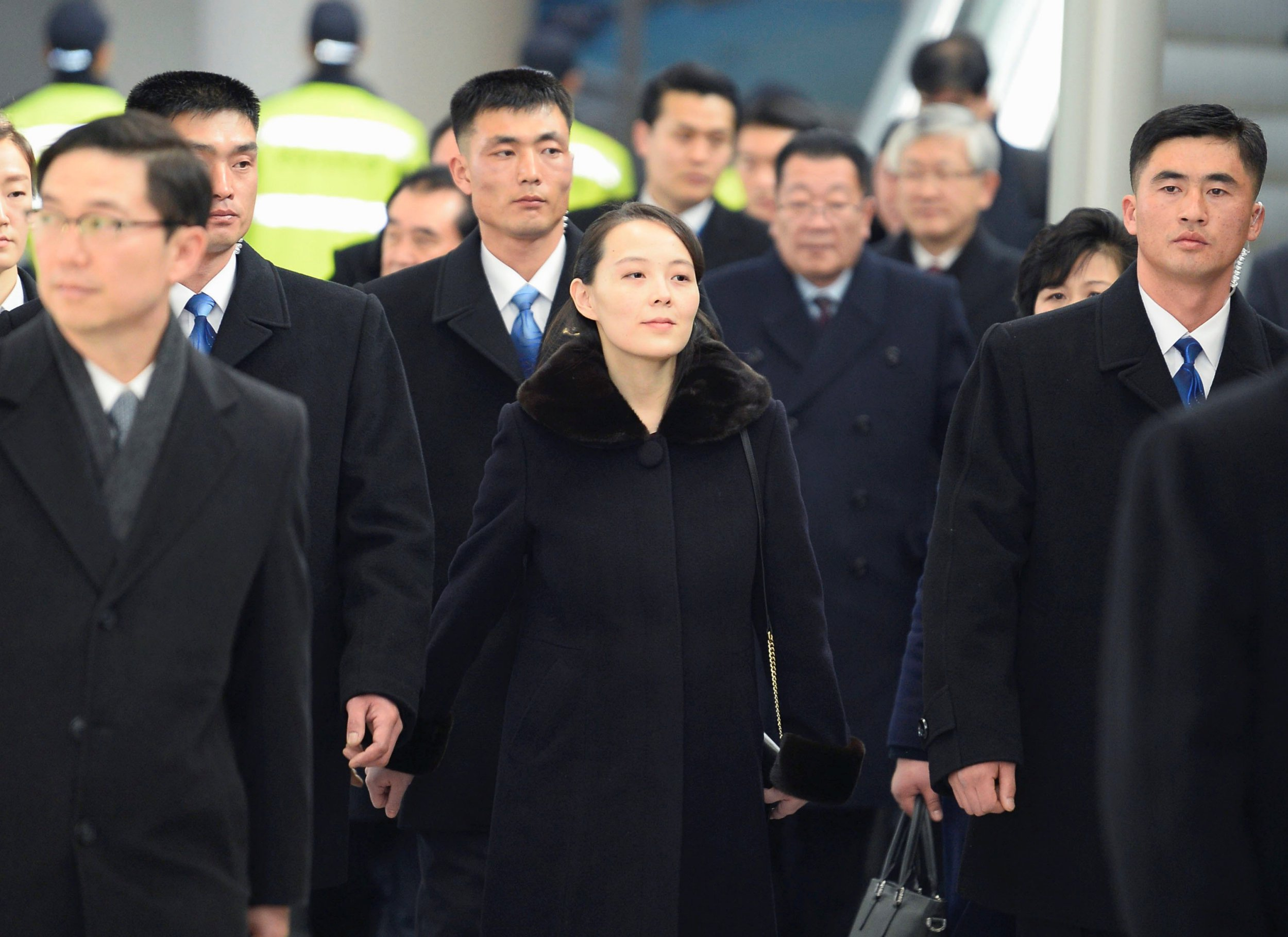 Kim Jong Un's sister becomes first in family to step foot on South Korean soil