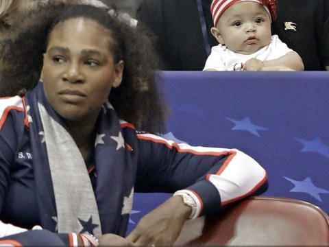 Serena Williams' adorable daughter Alexis Olympia steals the show as she returns to competitive sport