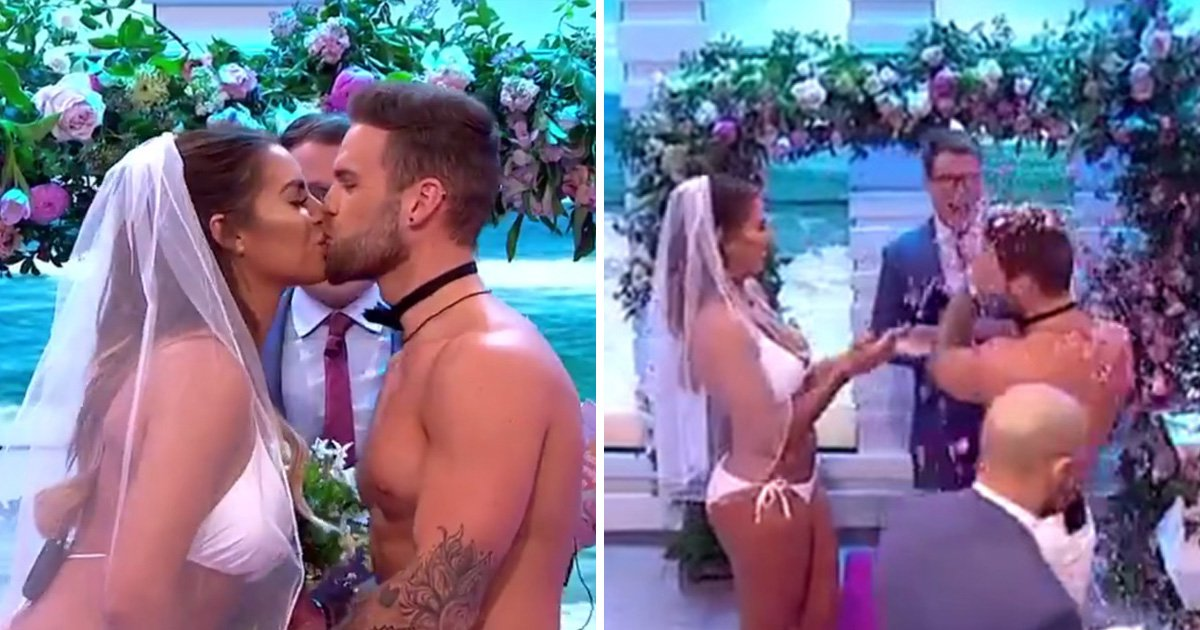 Love Island's Jess Shears and Dom Lever live TV wedding isn't actually legit