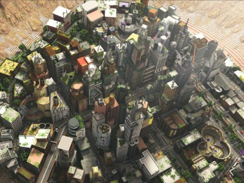 Minecraft players have built a city block by block that will blow your mind