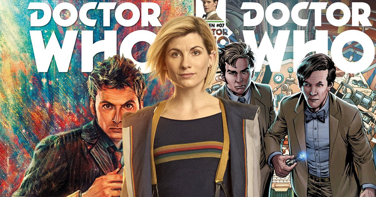 Jodie Whittaker's Doctor Who will get her own comic book series