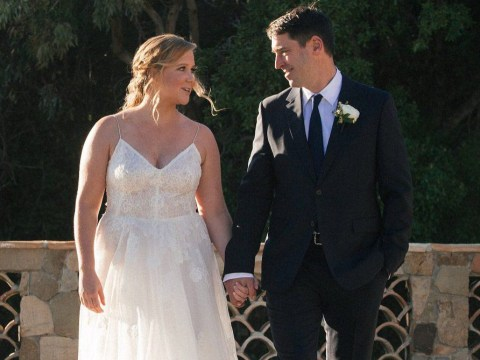 Amy Schumer promised to 'keep going down on' her husband in her wedding vows