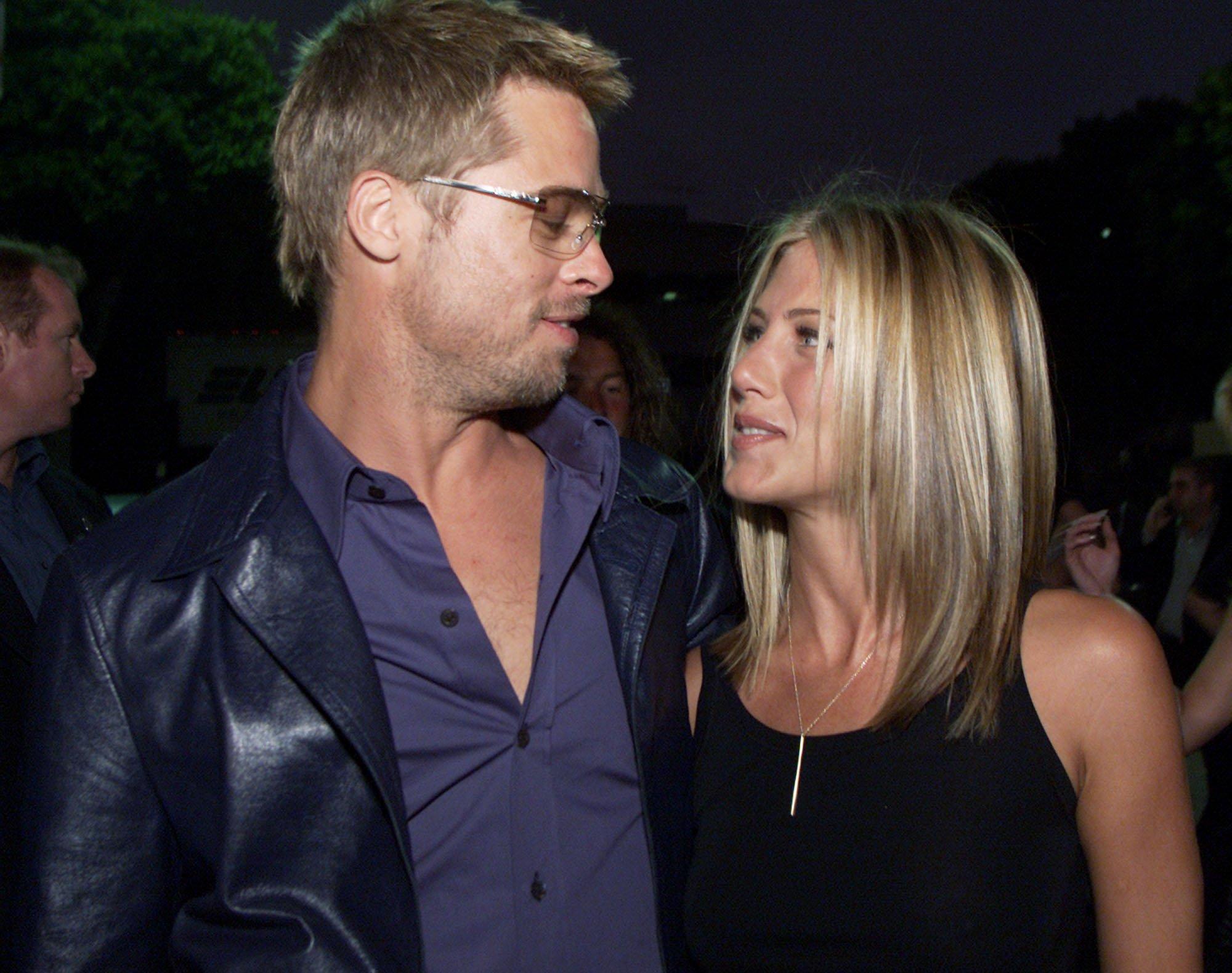 Brad Pitt and Jennifer Aniston in secret meeting?